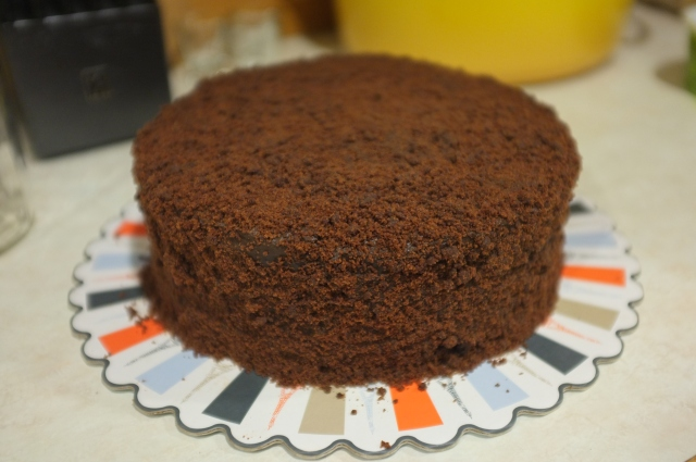 Much better. The crumbs were perfectly fine and I was able to stick them onto the pudding with no problem.