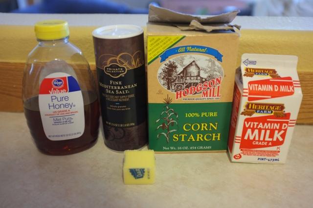 Custard Ingredients