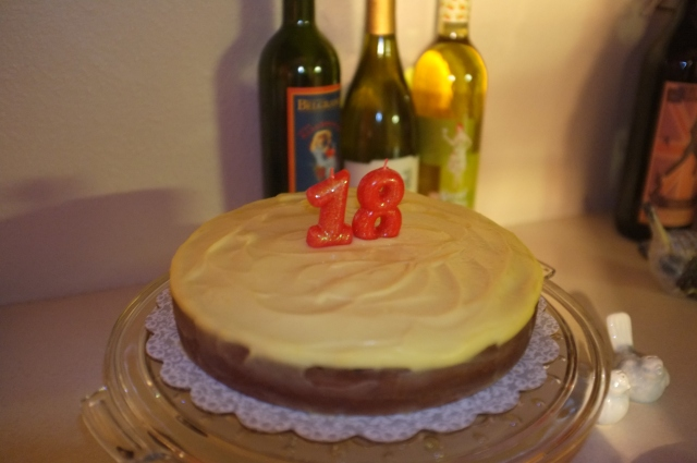 #9 Lemon Almond Streamliner cake