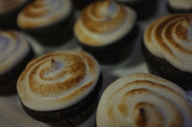 #15 Mississippi Mud Cupcakes with Marshmallow Frosting