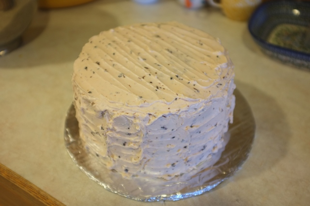#28 Cherry Chip Cake with Cherry Buttercream