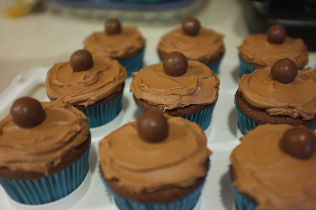 #36 Malted Milk Chocolate Cupcakes