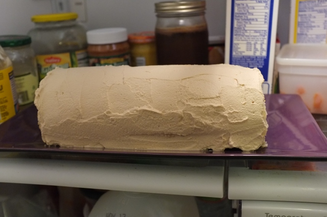 should have cut this side in a little more to expose the cream better
