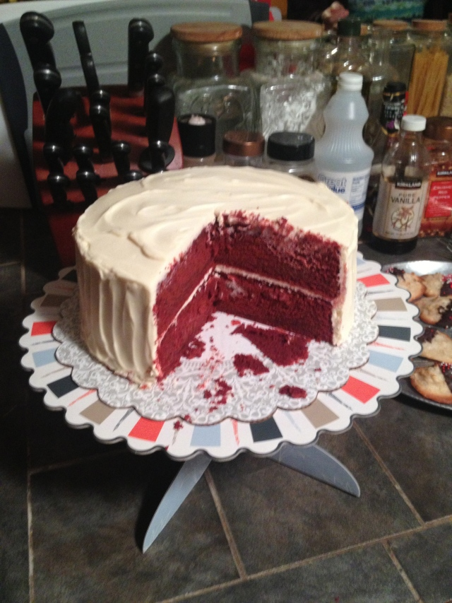 #6 Red Velvet Cake with Mascarpone Cream Cheese Frosting