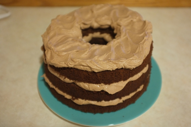#27 Lovelight Chiffon Cake with Chocolate Whipped Cream