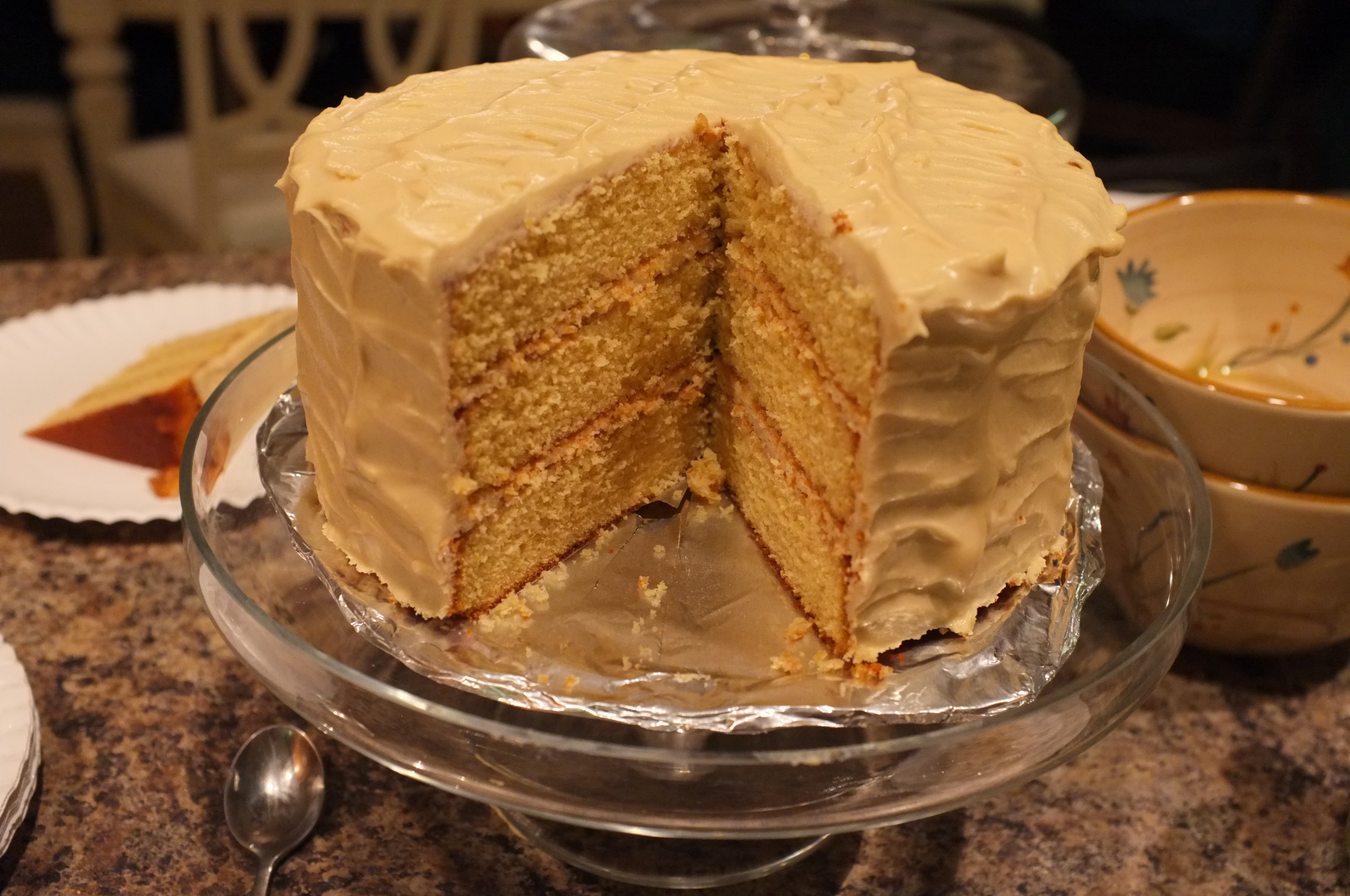 47 Old Vermont Burnt Sugar Cake With Maple Cream Cheese