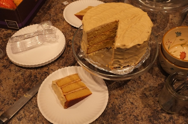 #47 Old Vermont Burnt Sugar Cake with Maple Cream Cheese Frosting