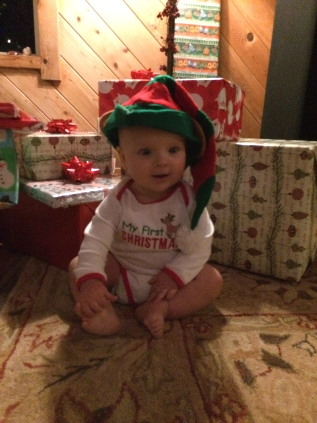 My little Christmas elf :)